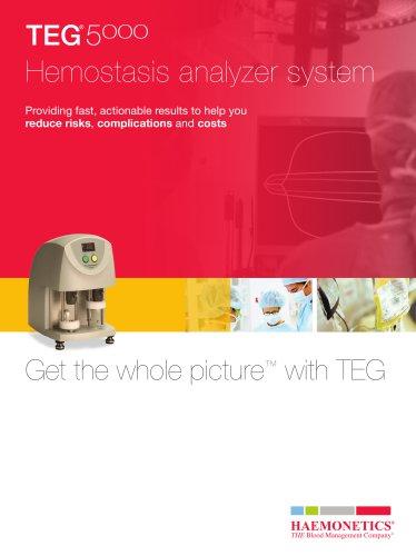 TEG 5000 Hemostasis Analyzer System