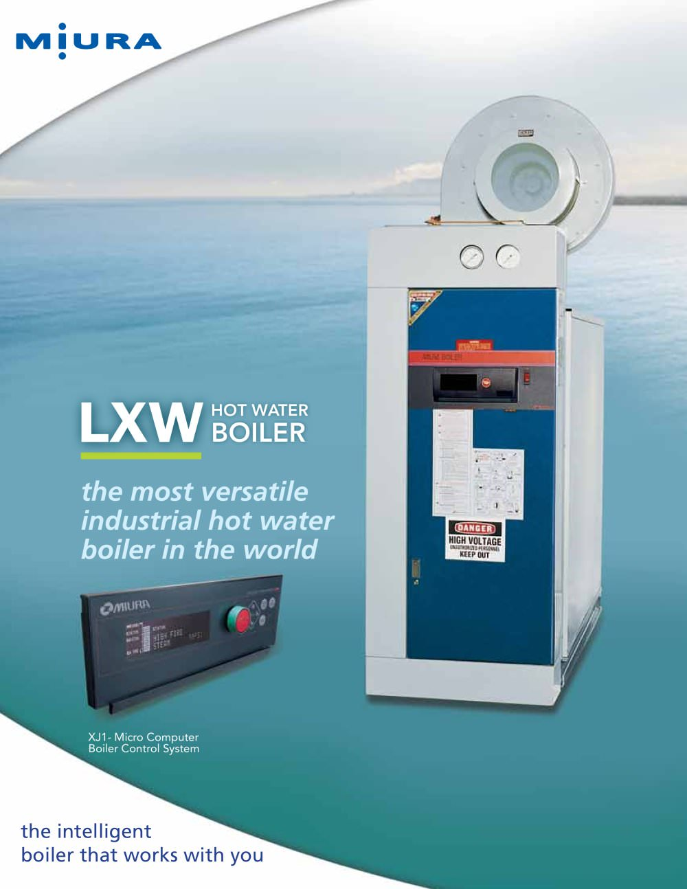 LXW Hot Water Boilers - Miura Boiler - PDF Catalogue | Technical ...