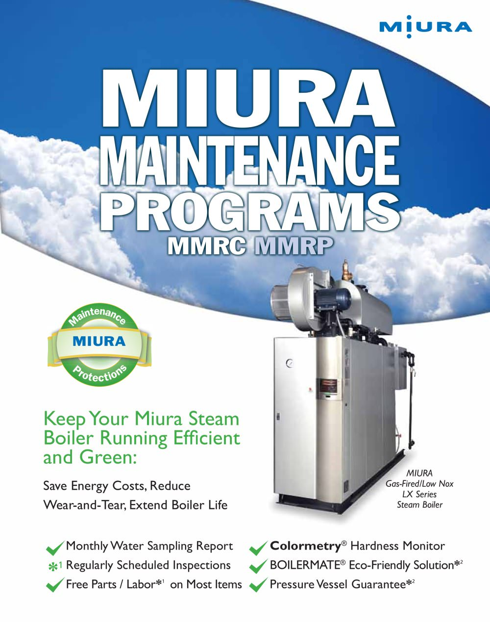 MMRC MMRP - Miura Boiler - PDF Catalogue | Technical Documentation