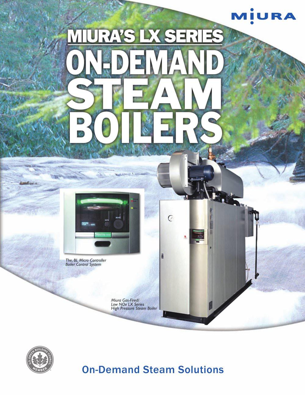 Steam Boilers - Miura Boiler - PDF Catalogue | Technical Documentation