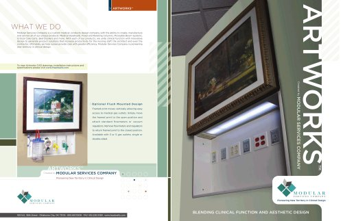 ArtWorks Brochure - Modular Services Company - PDF Catalogs