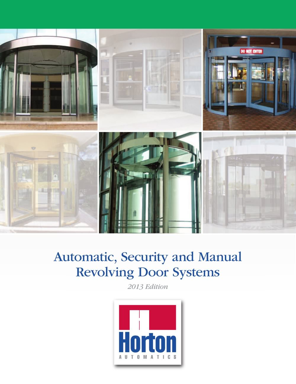 Revolving Door Brochure PDF (4.31 MB) - 1 / 12 Pages  sc 1 st  Catalogues Medicalexpo & Revolving Door Brochure PDF (4.31 MB) - Horton Doors - PDF Catalogue ...