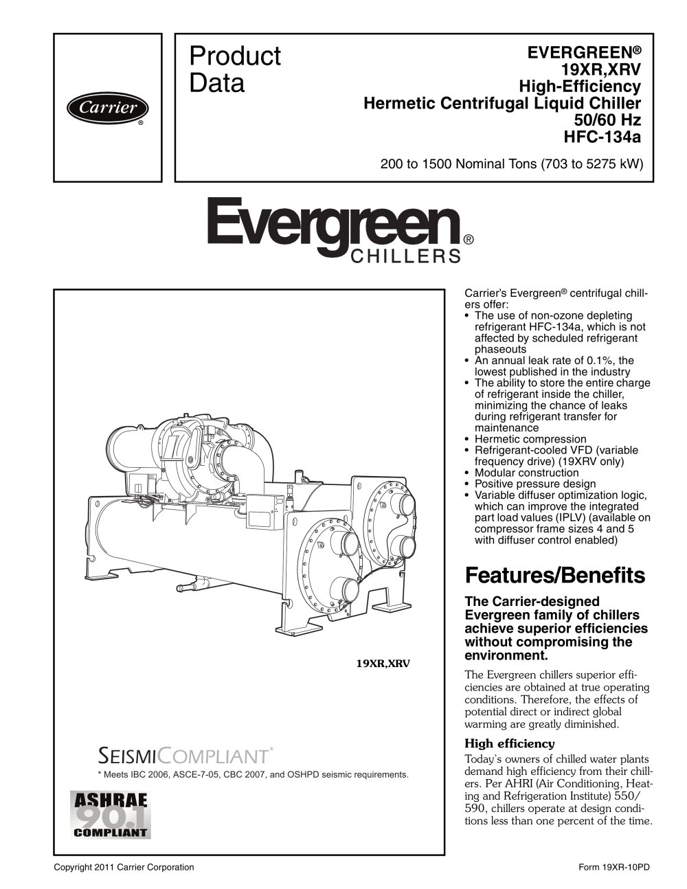 19XR EVERGREEN® - 1 / 56 Pages