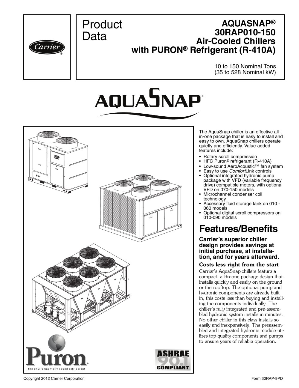 30RAP AQUASNAP® - 1 / 88 Pages