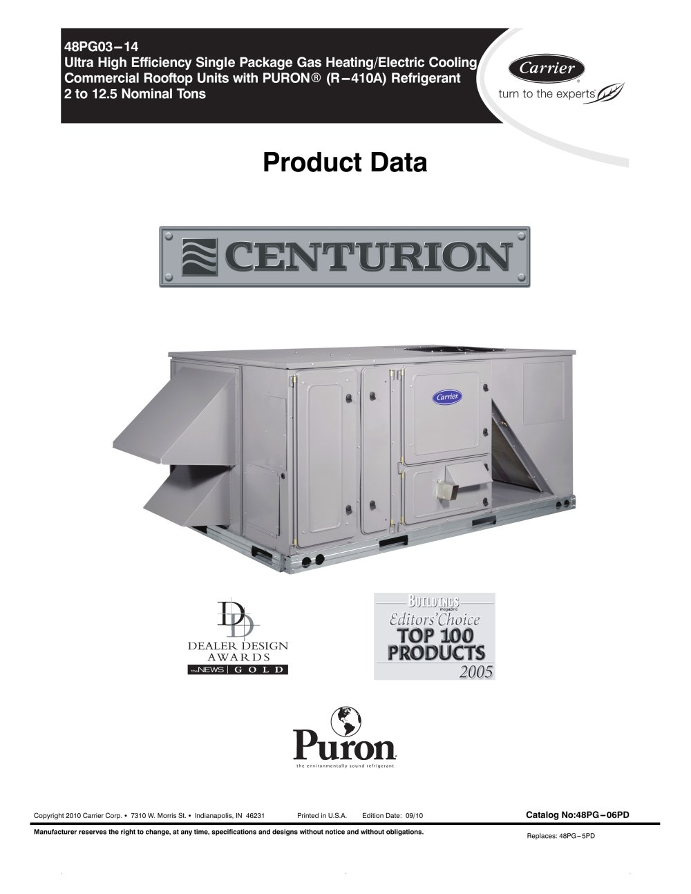 48pg centurion 95761_1b 48pg centurion? carrier commercial pdf catalogue technical carrier 48hc wiring diagram at eliteediting.co