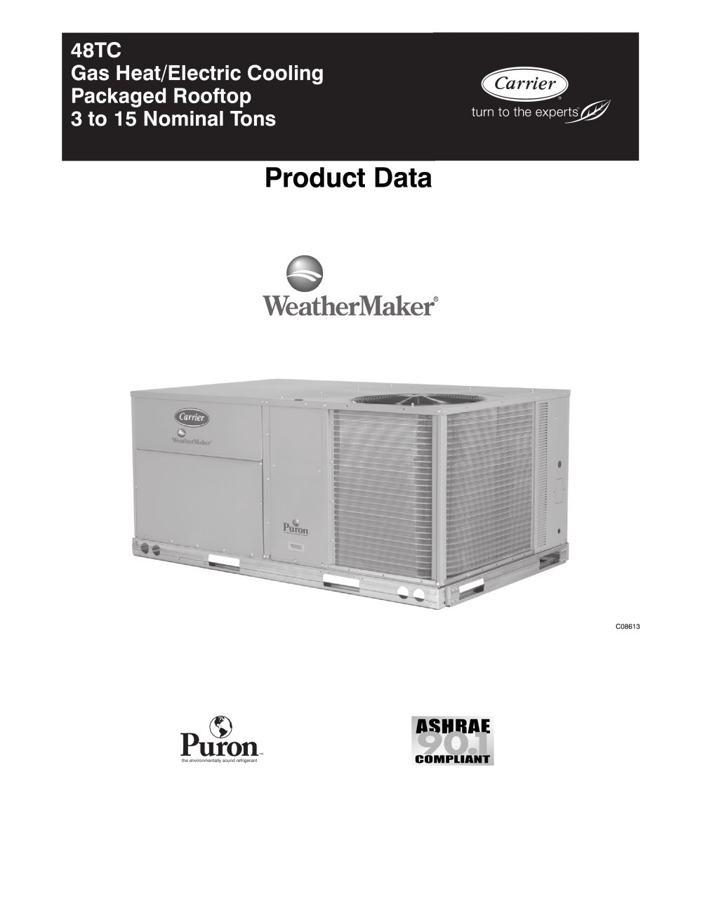 48tc weathermaker 95757_1b 48tc weathermaker� carrier commercial pdf catalogue carrier 48hc wiring diagram at eliteediting.co
