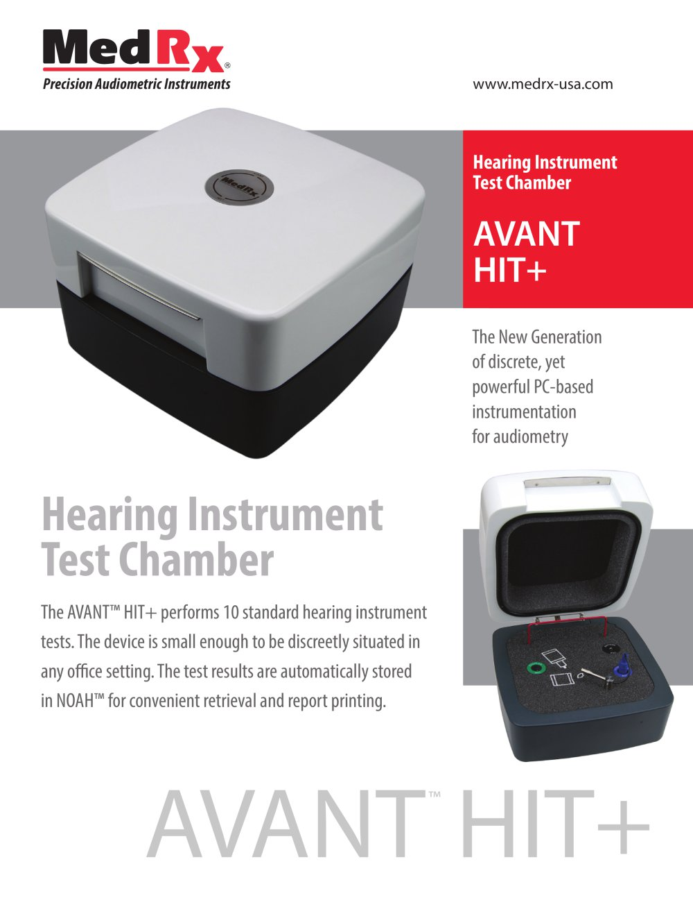 instrument for hearing