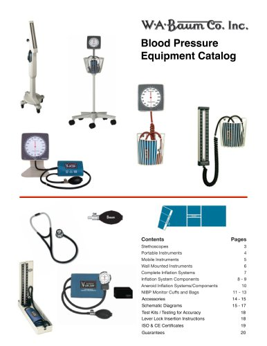 Baum Product Catalog