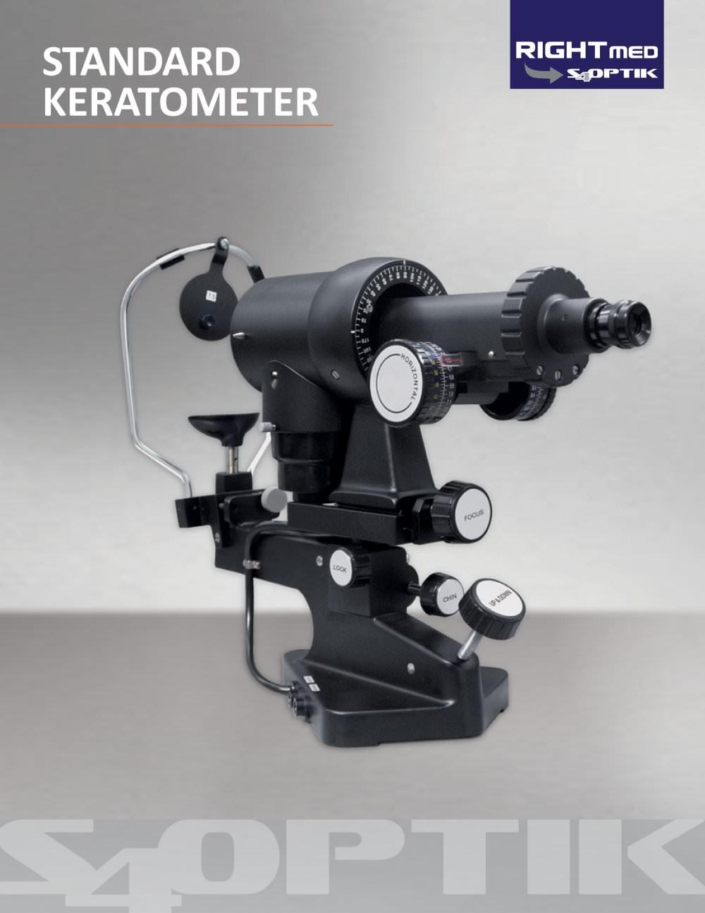 S4OPTIK Keratometer - S4OPTIK - PDF Catalogue | Technical ...