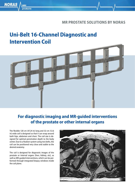 Uni Belt 16 Channel Diagnostics And Intervention Coil Noras Mri