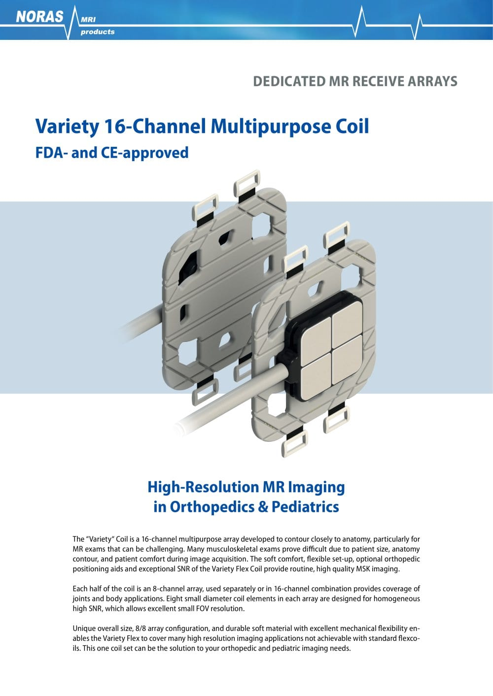 Variety 16-Channel Multipurpose Coil - Noras MRI - PDF Catalogue ...