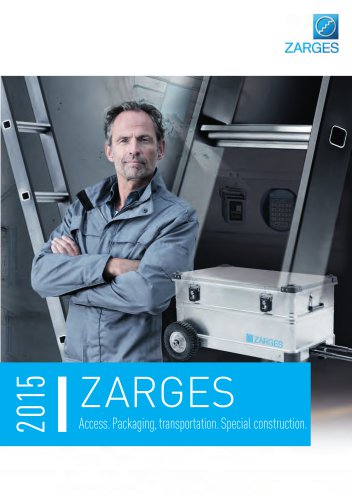 ZARGES main catalogue 2015