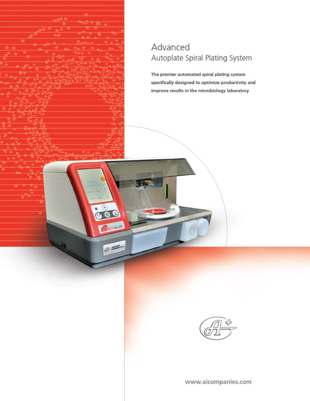 Autoplate® Spiral Plating System - 1 / 4 Pages