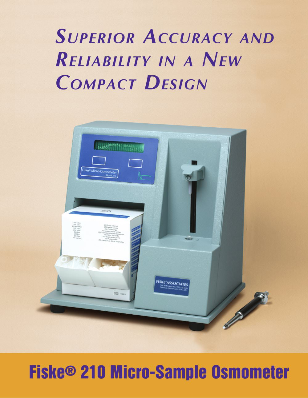 Fiske® 210 Micro-Sample Osmometer - 1 / 4 Pages