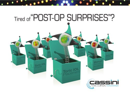 Cassini Product Brochure