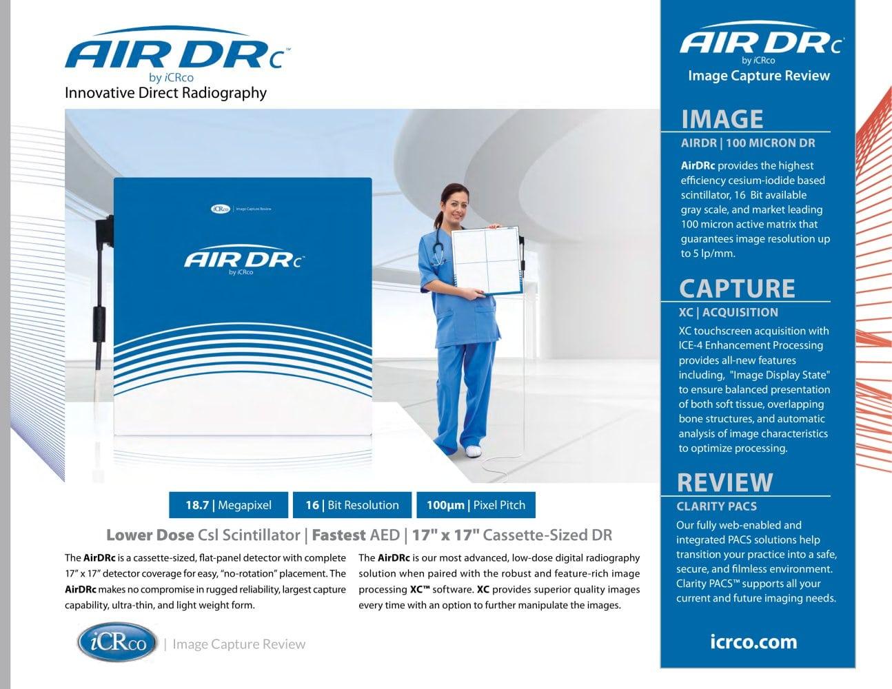 AirDRc - iCRco - PDF Catalogue   Technical Documentation
