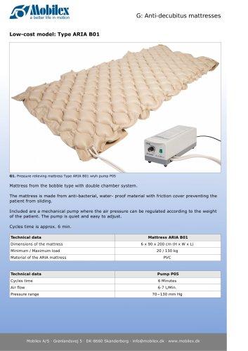 Anti-decubitus mattresses - Mobilex A/S - PDF Catalogs | Technical