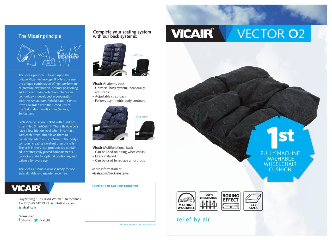 Vector O2 - product brochure - Vicair BV - PDF Catalogue ...