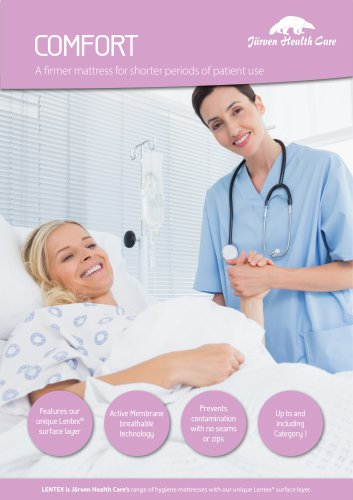 Comfort - Hygiene Mattress with Lentex®