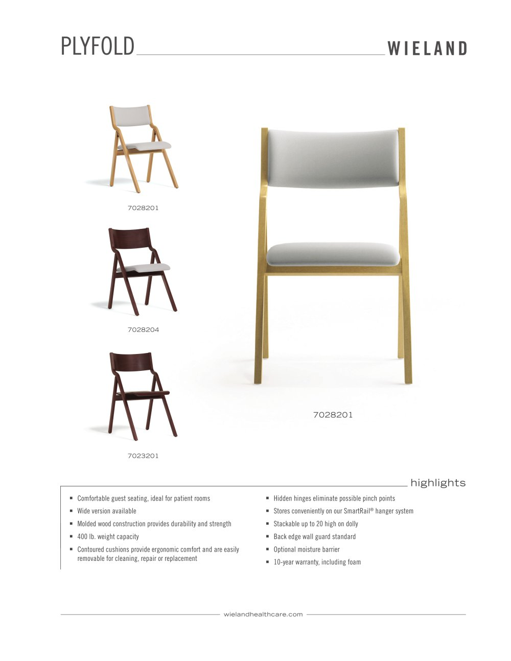 Plyfold Folding Chair   1 / 2 Pages