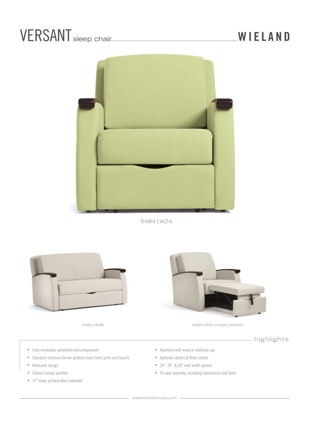versant sleep chair 1 2 pages