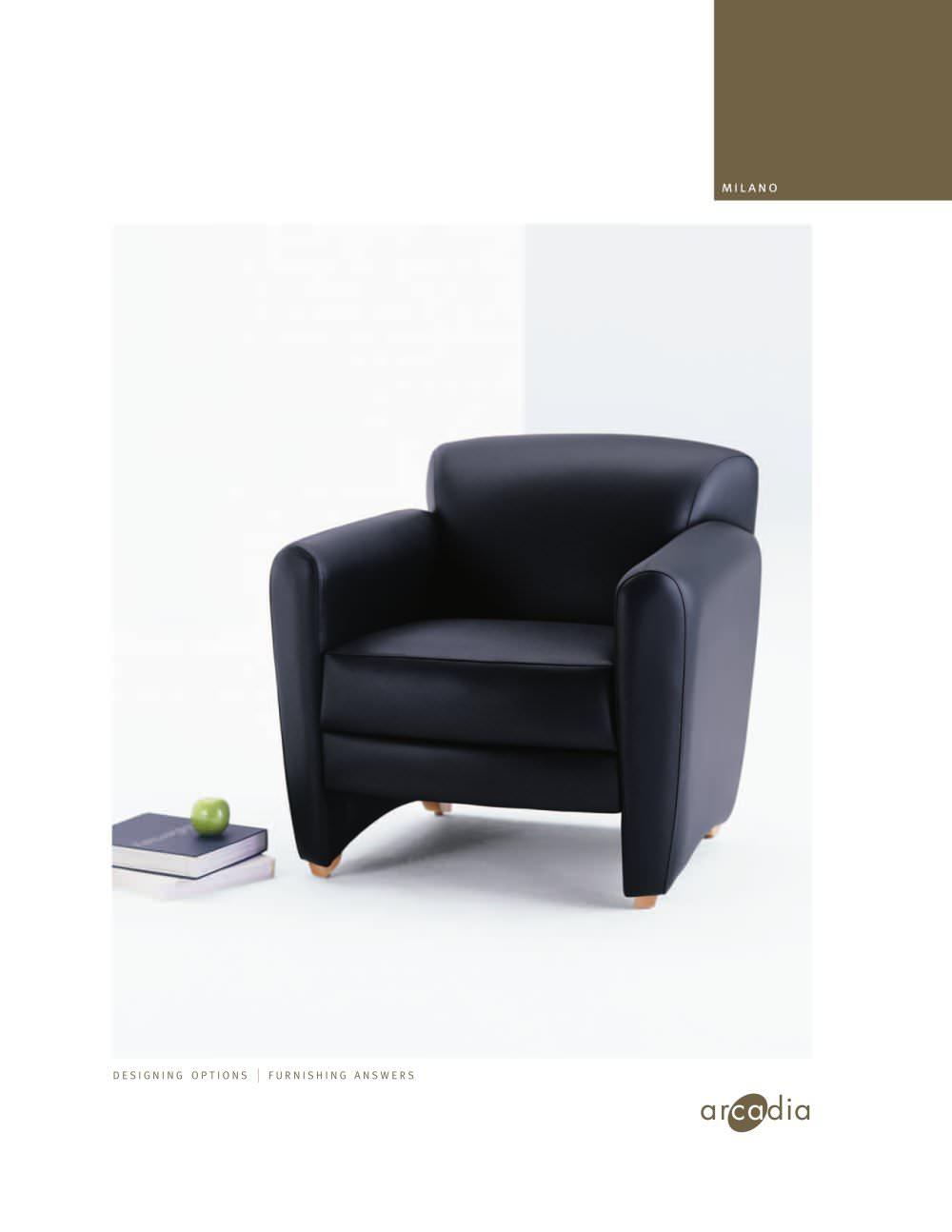 Superb Milano Lounge Arcadia Pdf Catalogs Technical Documentation Beatyapartments Chair Design Images Beatyapartmentscom