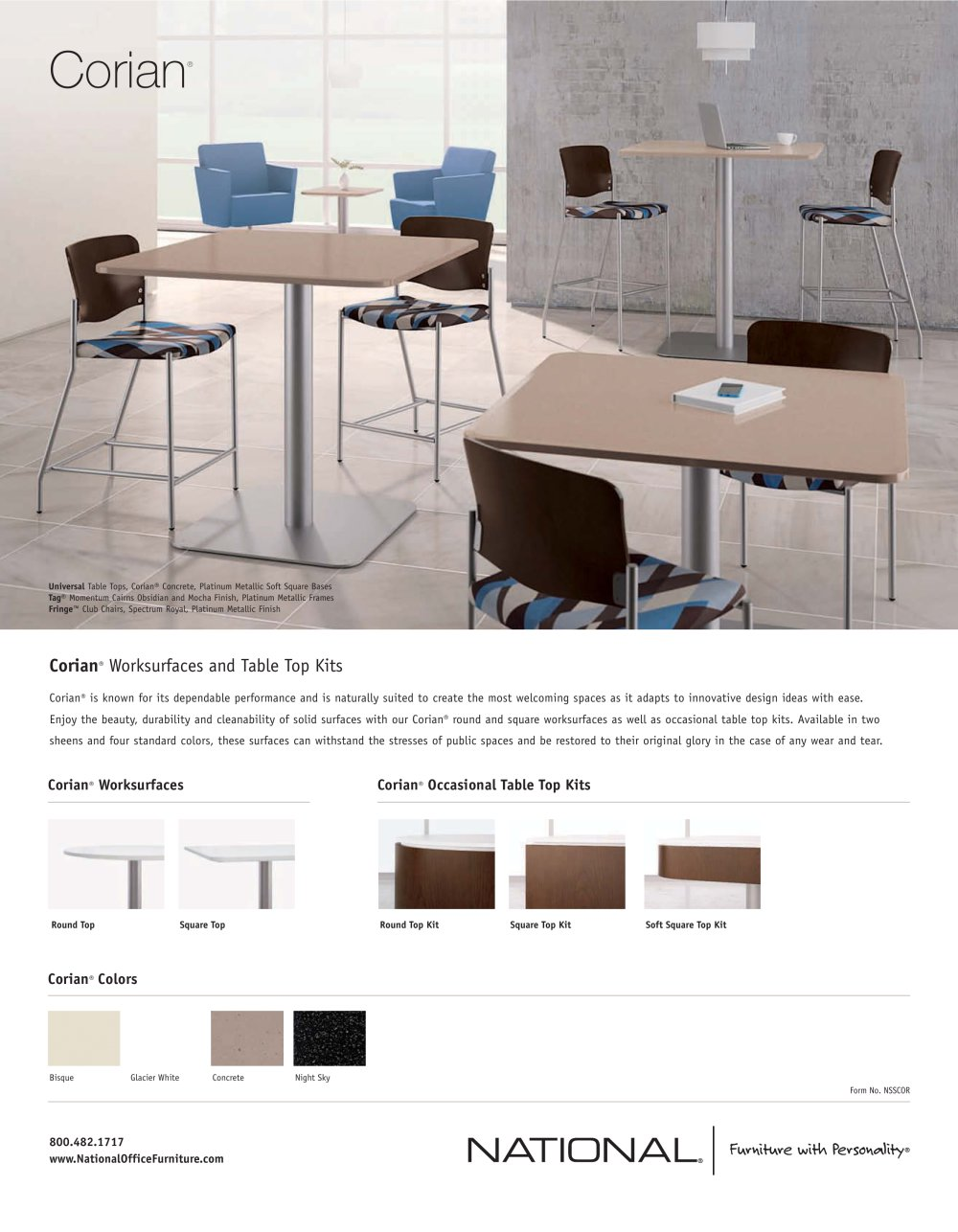 office work surfaces laminate corian worksurfaces pages national office furniture pdf catalogue