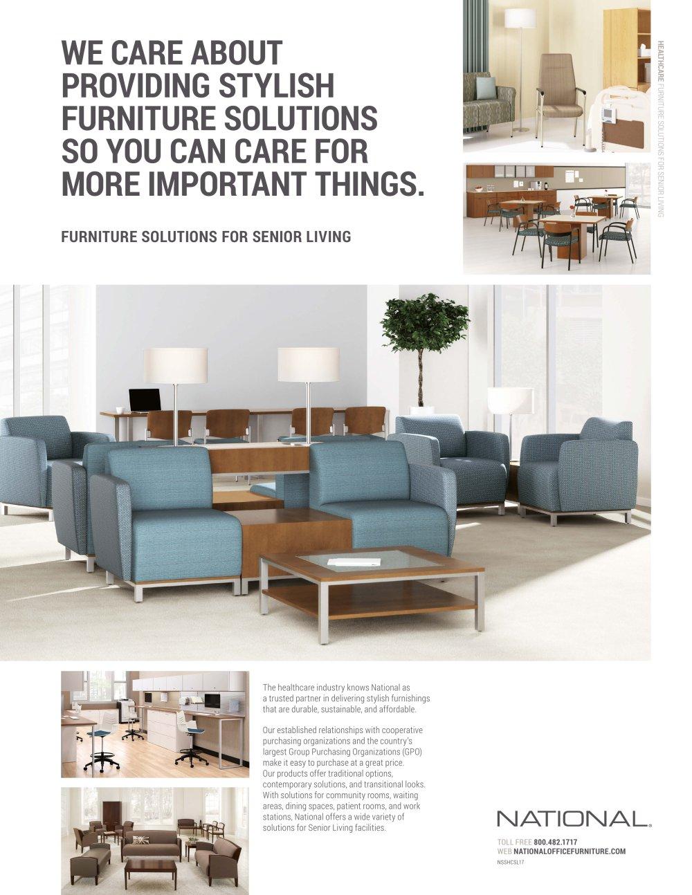 Senior Living Sales Sheet - National Office Furniture - PDF ...