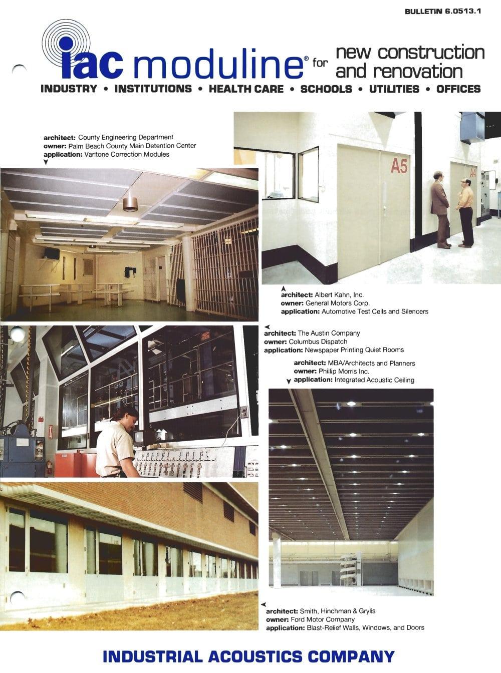 Acoustic Construction Panels (Moduline) - 1 / 8 Pages  sc 1 st  Catalogues Medicalexpo & Acoustic Construction Panels (Moduline) - iac Acoustics - PDF ...