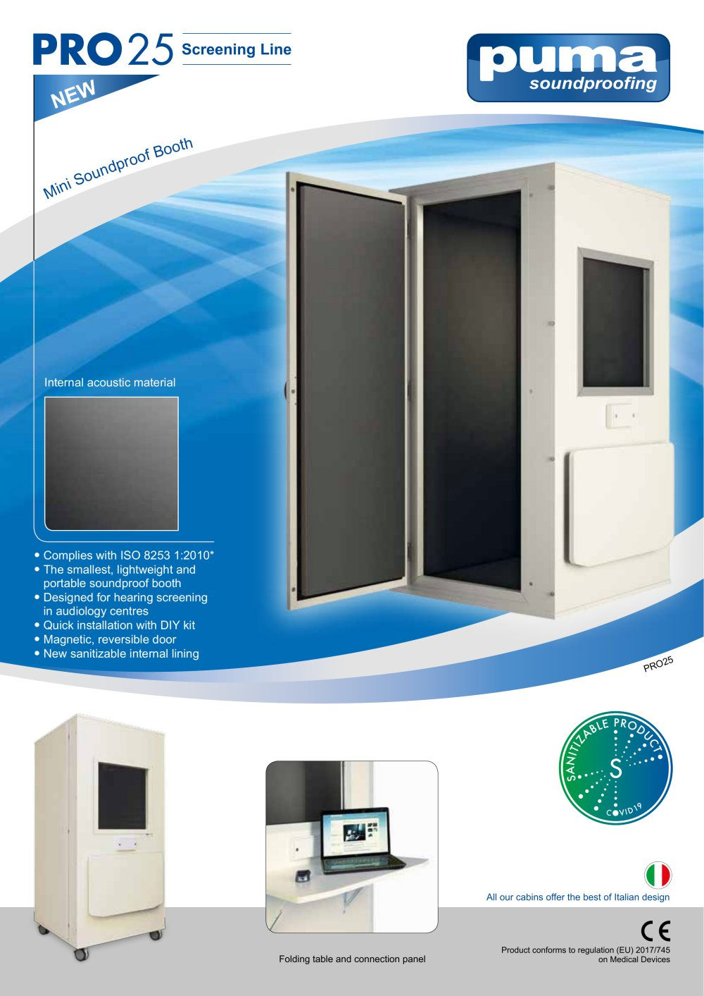Pro25 Screening Line Puma Soundproofing Pdf Catalogs Technical