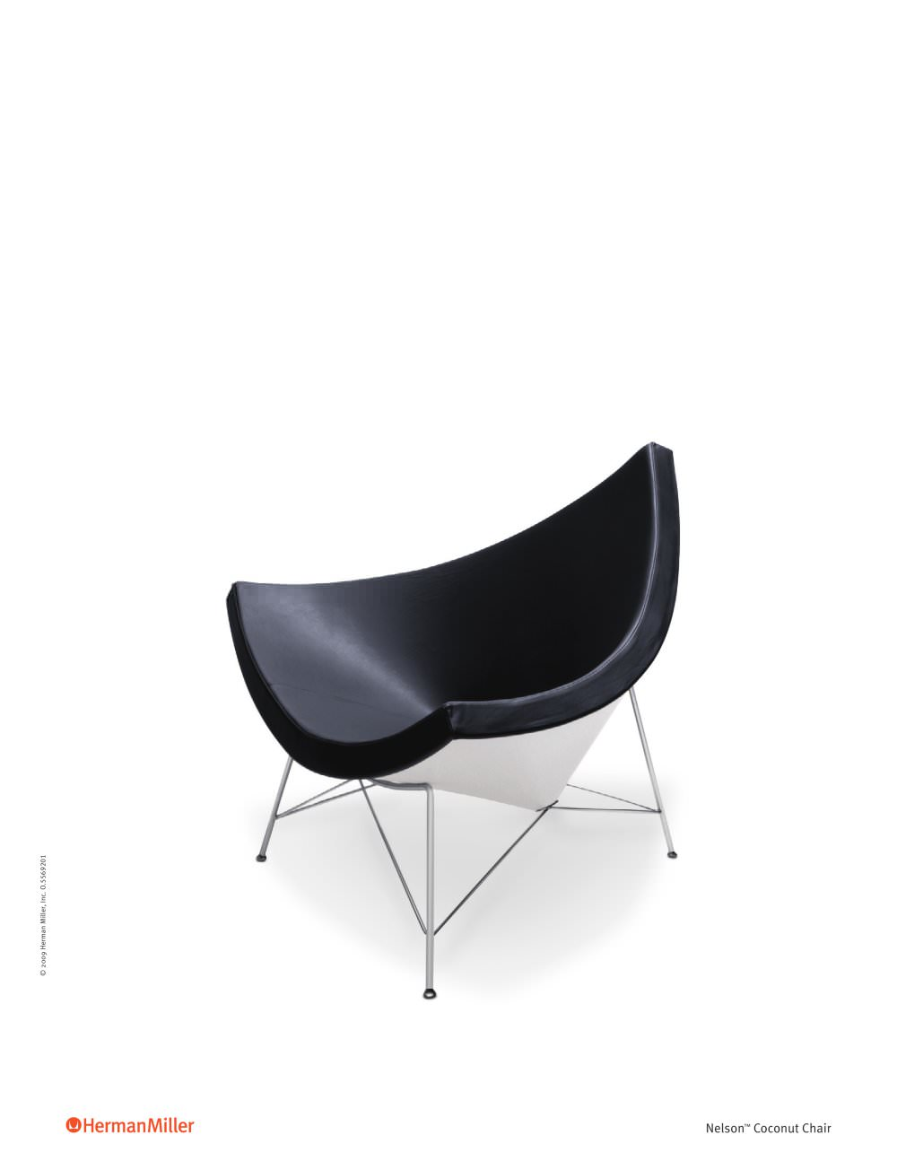 Superb Nelson Coconut Lounge Chair   1 / 2 Pages