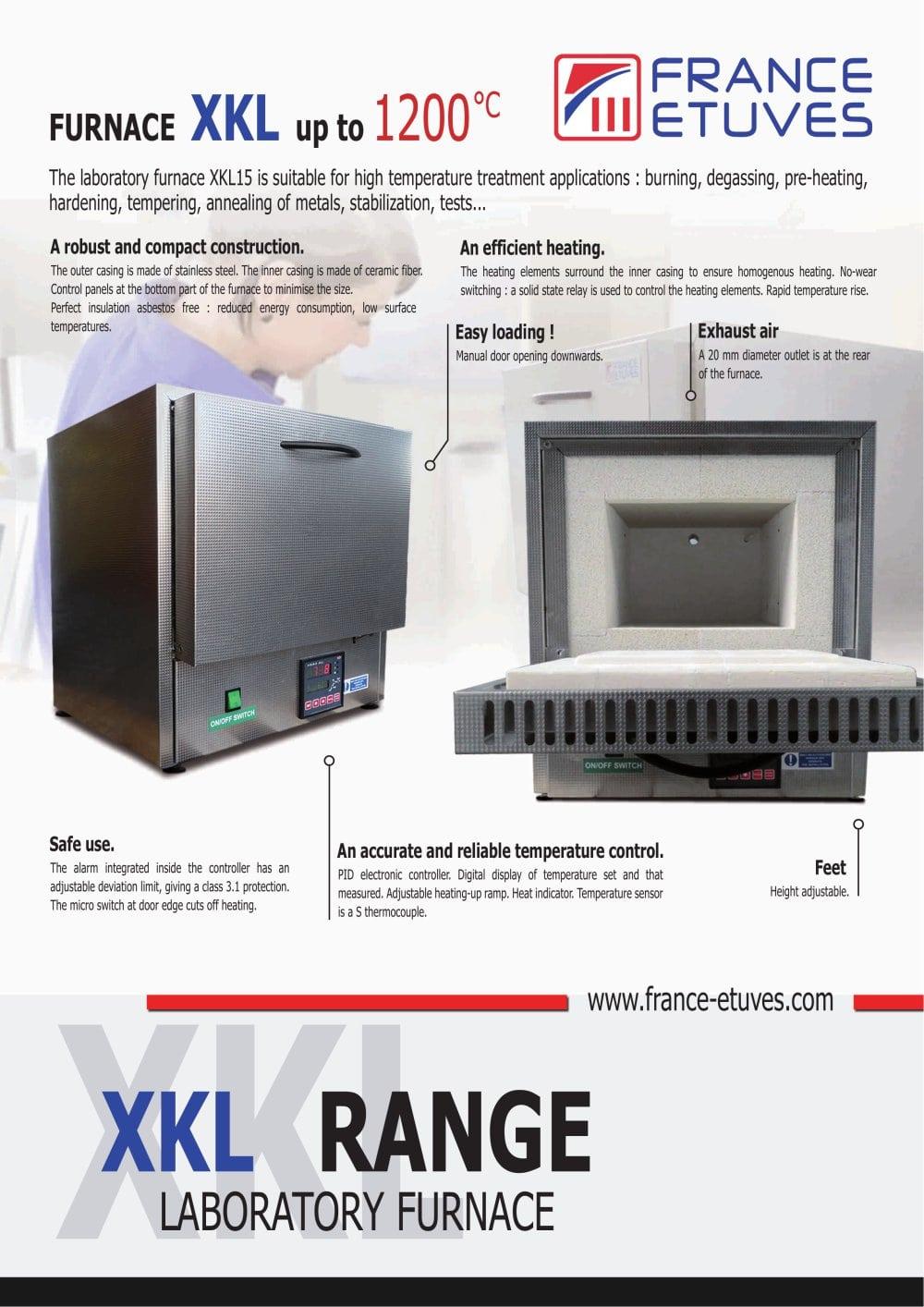 Xkl Four De Laboratoire France Etuves Pdf Catalogue Solid State Relay Outlet 1 2 Pages