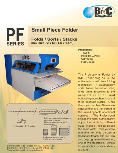 PF Series Commercial Folder