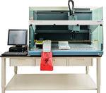 sistema automático de preparação de amostras de laboratório / por pipetagem / de soro / a plasma