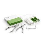 kit de instrumentos de odontologia