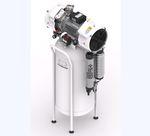 compressor hospitalar / para odontologia / de laboratório / sem óleo