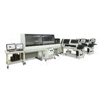 sistema de automação de laboratório pré-analítico / pós-analítico / para analisador hematológico