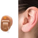 prótese auditiva intra-auricular invisível (IIC)