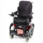 cadeira de rodas elétrica / para áreas externas / para ambientes internos / com apoios para pernas
