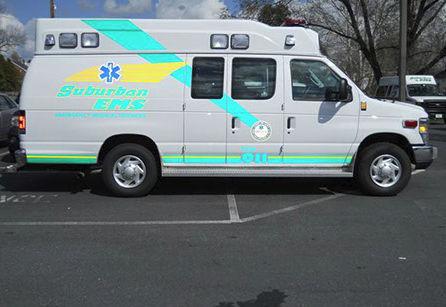 Van ambulance / type II - Squad 2 - Marque Ambulance