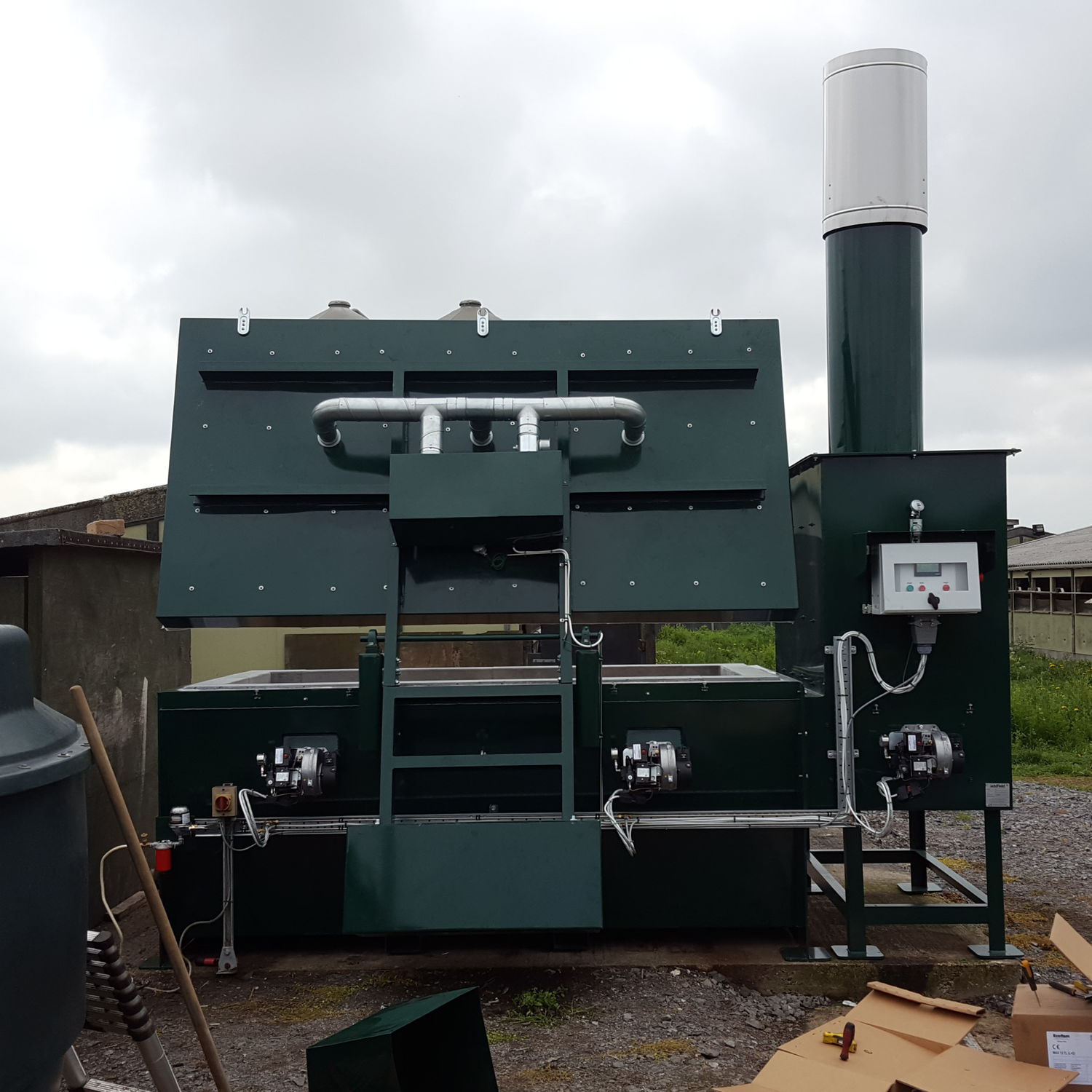 Large animal incinerator / for animal waste / floor-standing - TB - Addfield Environmental Systems