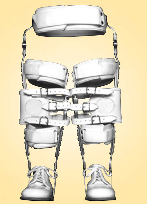 Hip Knee Ankle And Foot Orthosis Articulated Pediatric