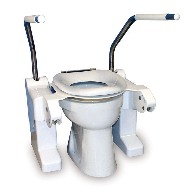 Tilting Raised Toilet Seat Height Adjule With Armrests