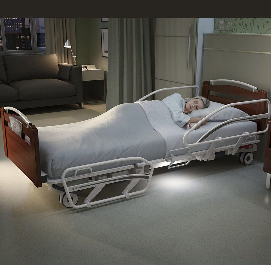Stupendous Hospital Bed Nursing Home Medical Electric Ookcocoon Home Interior And Landscaping Mentranervesignezvosmurscom