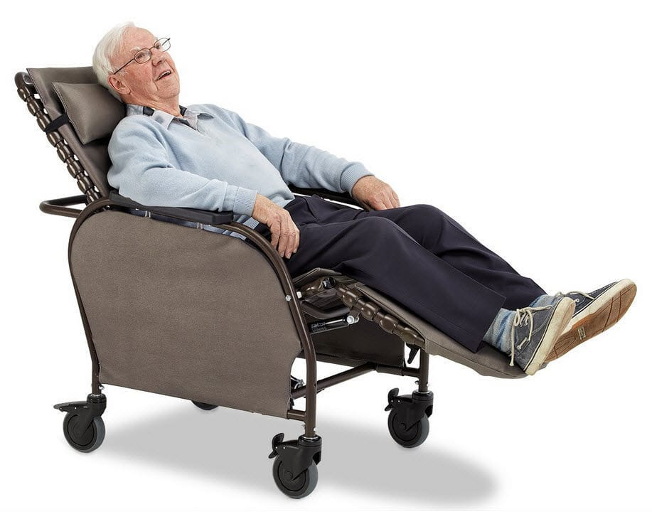 Enjoyable Patient Chair On Casters Height Adjustable With Legrest Ncnpc Chair Design For Home Ncnpcorg