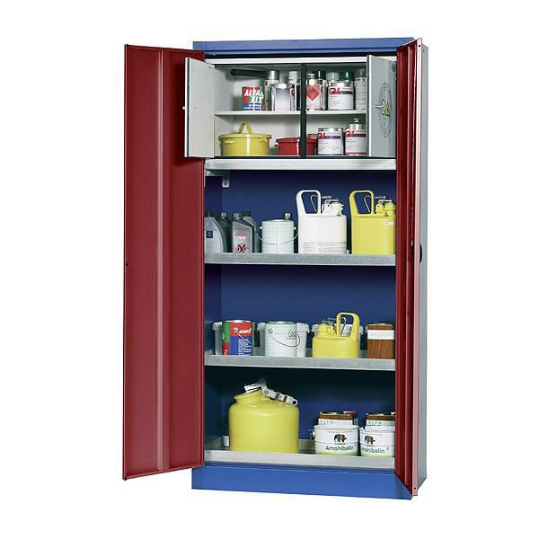 Security Cabinet For Flammable Liquids Laboratory With Shelf E Clic Uf