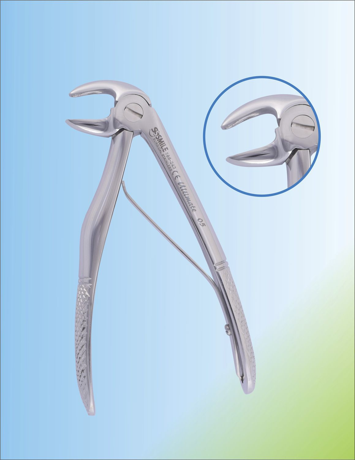 Baby Dental Extraction Forceps Ssi 786 243 Smile Surgical Ireland Limited For Lower Incisors