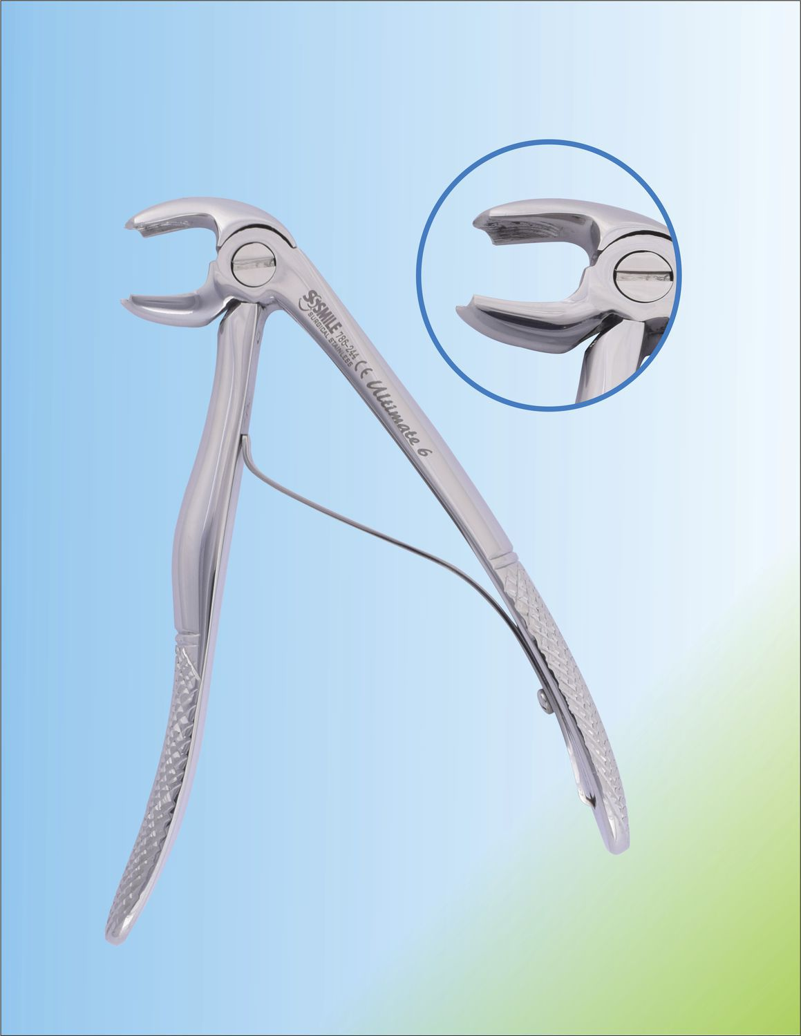 Baby Dental Extraction Forceps Ssi 786 244 Smile Surgical Ireland Limited For Lower Molars