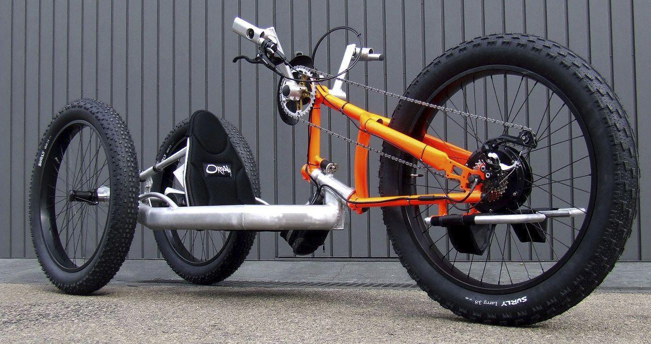 Adult handbike - NAT-M - Oracing Wheelchairs