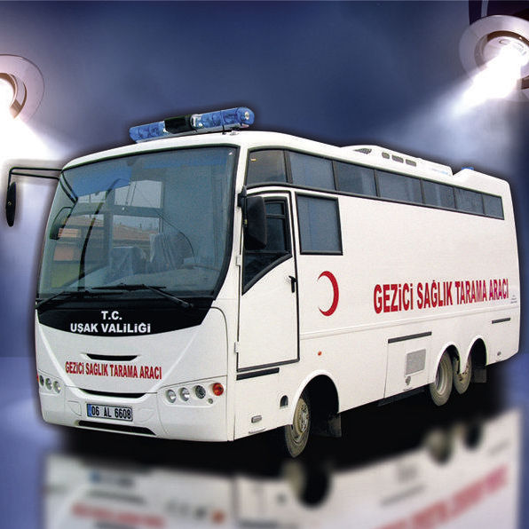 Bus mobile clinic - Iveco - KURTARAN AMBULANS